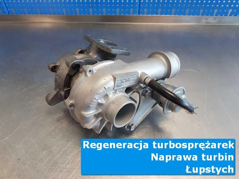 Układ turbodoładowania po wymianie w warsztacie w Łupstychu