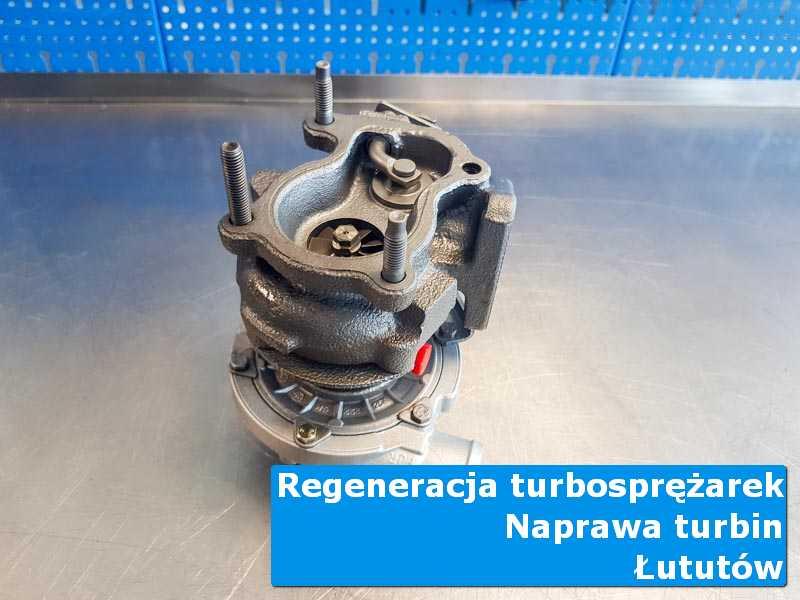 Turbosprężarka po wyważaniu w specjalistycznej pracowni w Lututowie