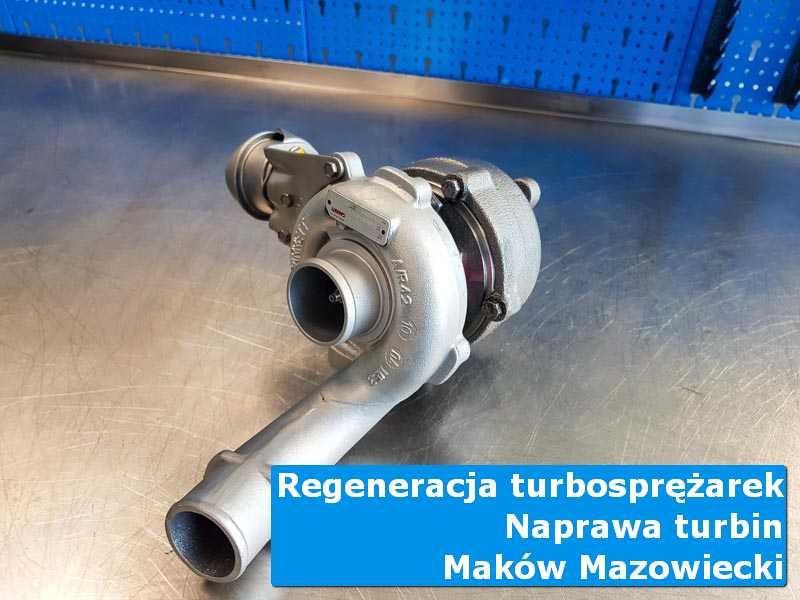 Turbina przed montażem w autoryzowanym serwisie z Makowa Mazowieckiego