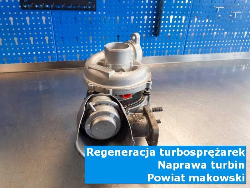Turbosprężarka po wizycie w ASO w profesjonalnym serwisie, powiat makowski