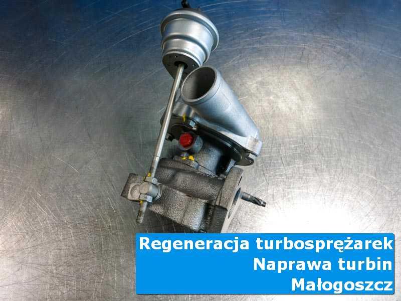 Turbosprężarka przed wymianą w profesjonalnym serwisie w Małogoszczu