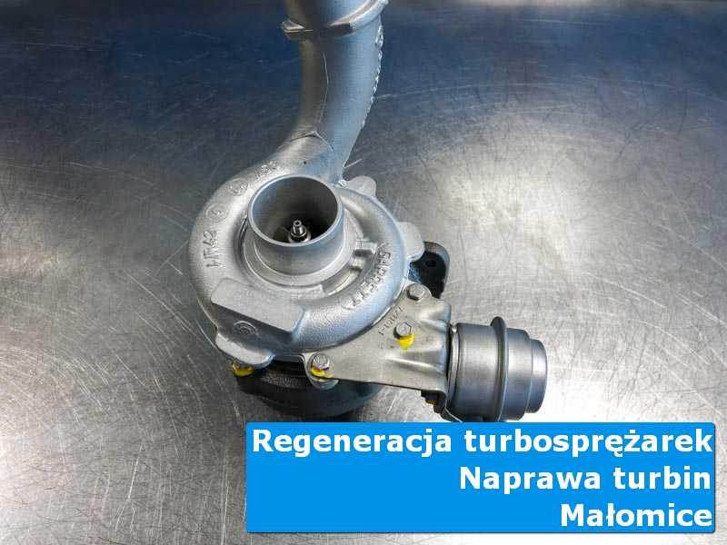 Turbosprężarka po przygotowaniu u specjalistów w Małomicach