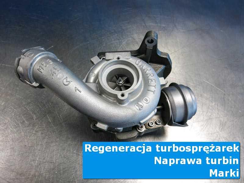 Turbosprężarka przed oddaniem do klienta w autoryzowanym serwisie z Marek