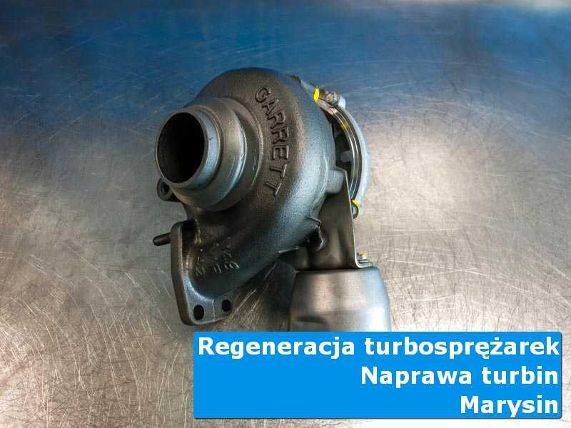 Układ turbodoładowania przed pakowaniem w autoryzowanym serwisie w Marysinie
