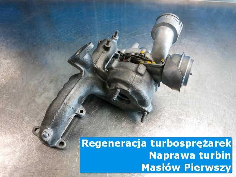 Układ turbodoładowania przed wymianą w autoryzowanej pracowni w Masłowie Pierwszym