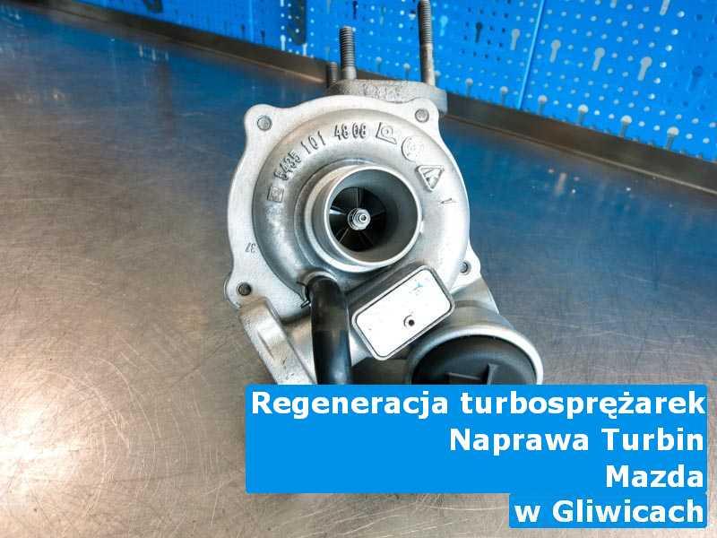 Turbosprężarka marki Mazda dostarczona do pracowni z Gliwic