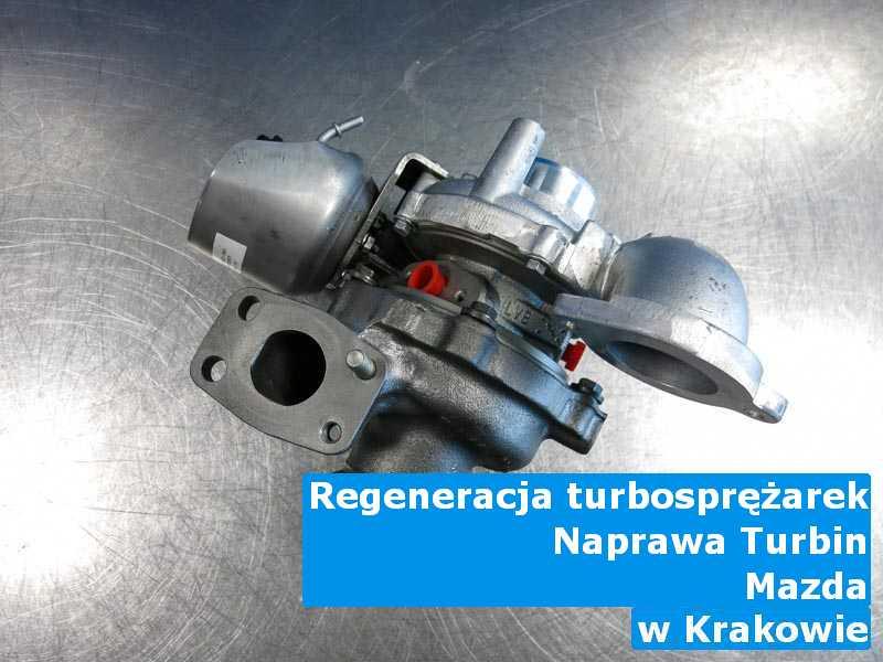 Turbo z pojazdu marki Mazda w pracowni z Krakowa
