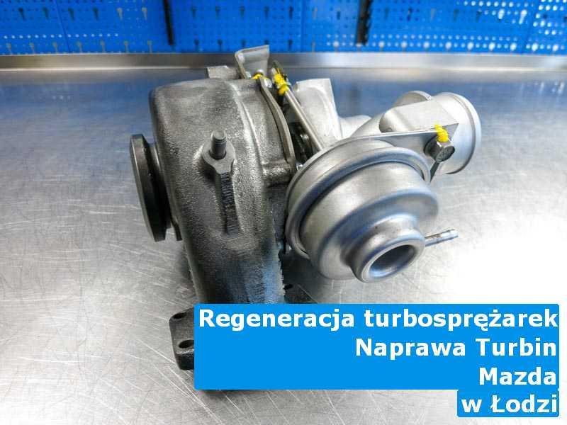 Turbina marki Mazda dostarczona do zakładu regeneracji z Łodzi