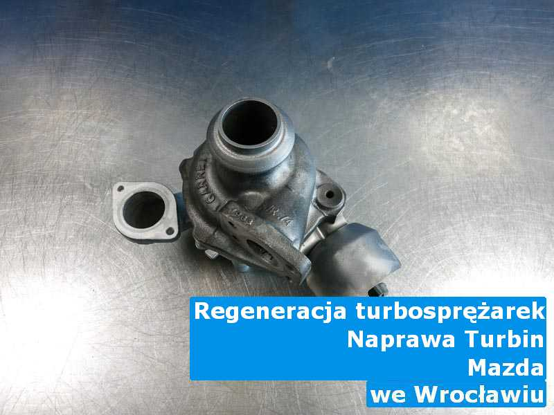 Turbosprężarki marki Mazda dostarczone do warsztatu z Wrocławia