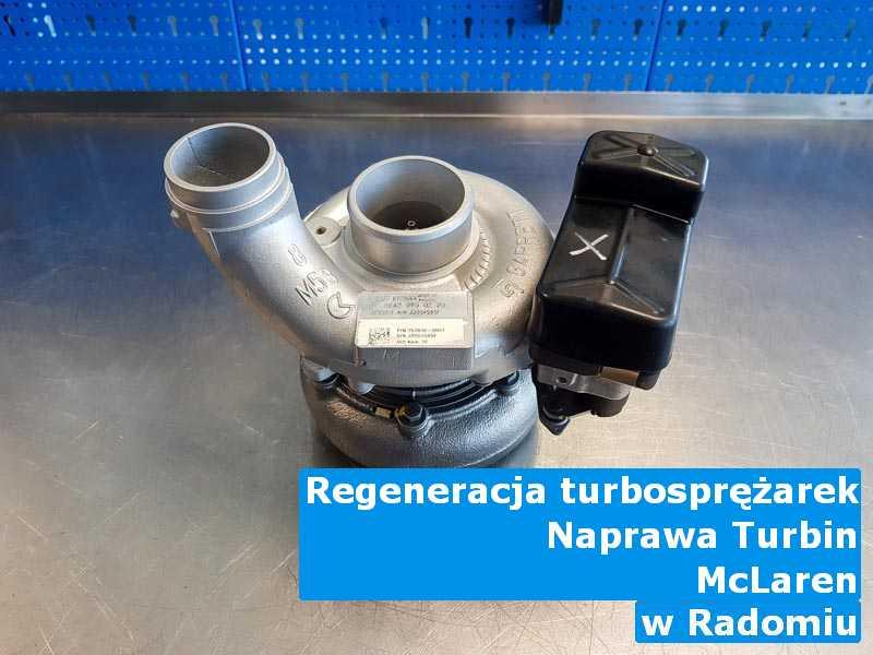 Turbosprężarki marki McLaren po odzyskaniu osiągów z Radomia