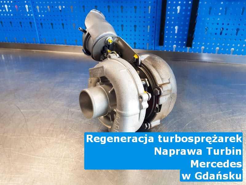 Turbiny z samochodu Mercedes po regeneracji z Gdańska