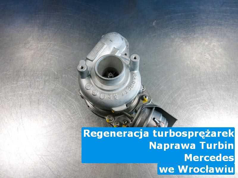 Turbina marki Mercedes wysłana do pracowni z Wrocławia
