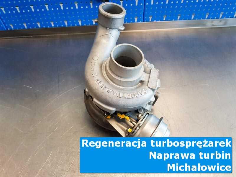 Układ turbodoładowania po przywróceniu sprawności w pracowni w Michałowicach