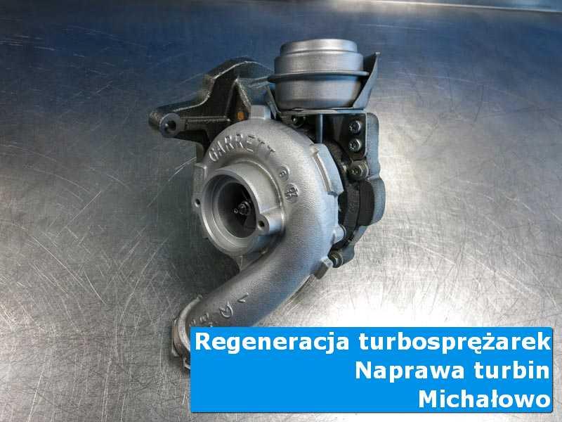 Turbosprężarka po wymianie w autoryzowanej pracowni z Michałowa