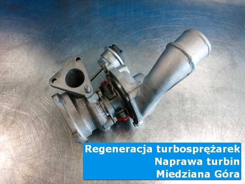 Układ turbodoładowania przed wymianą w autoryzowanym serwisie w Miedzianej Górze