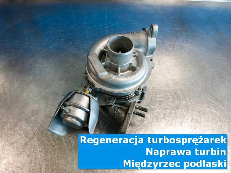 Układ turbodoładowania przed pakowaniem w autoryzowanym serwisie z Międzyrzeca Podlaskiego