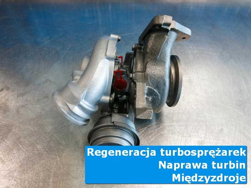 Turbosprężarka po przygotowaniu w autoryzowanej pracowni w Międzyzdrojach