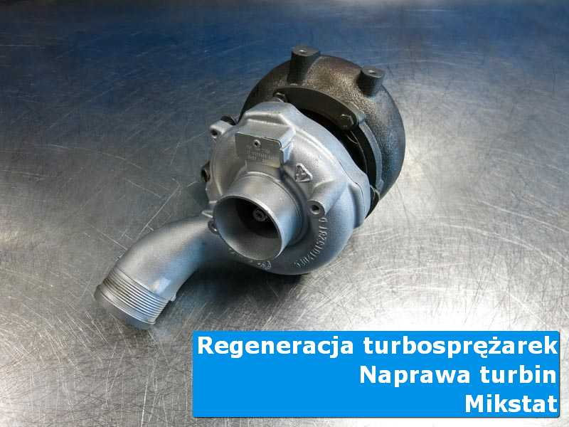 Układ turbodoładowania po regeneracji w specjalistycznej pracowni z Mikstatu