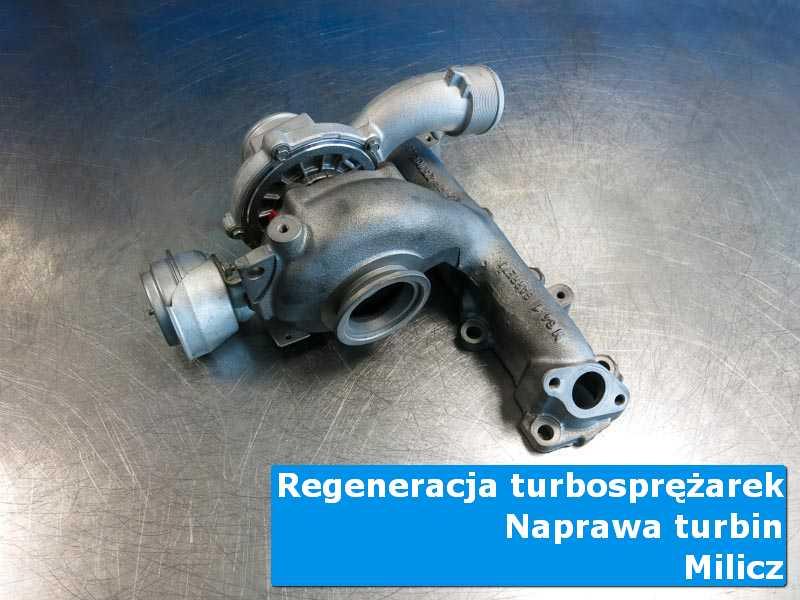 Układ turbodoładowania po przywróceniu sprawności u fachowców w Miliczu