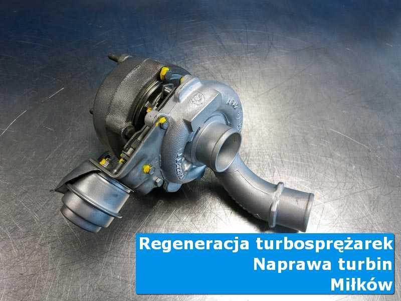 Turbosprężarka po wymianie w pracowni w Miłkowie