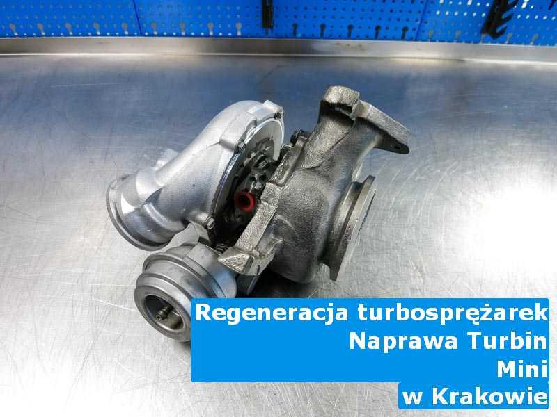 Turbosprężarka z pojazdu marki Mini zdemontowana z Krakowa