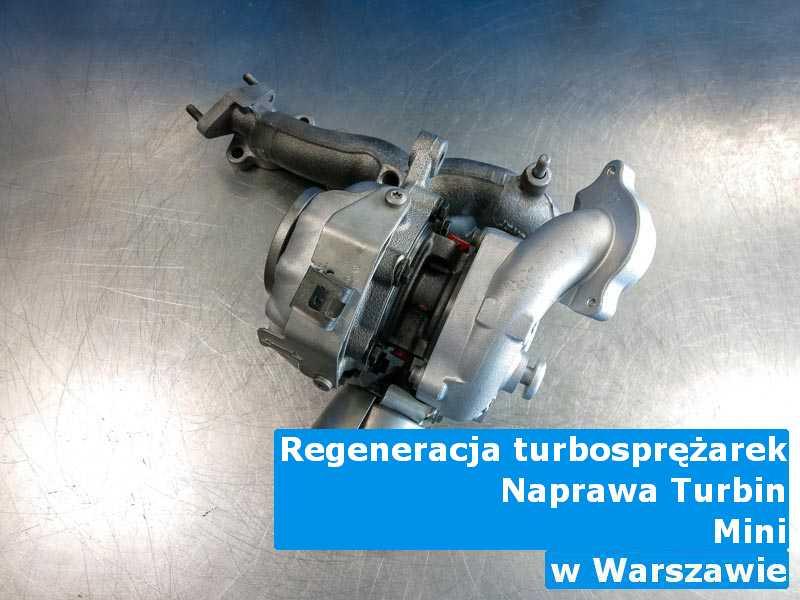 Turbina z pojazdu marki Mini po procesie regeneracji pod Warszawą