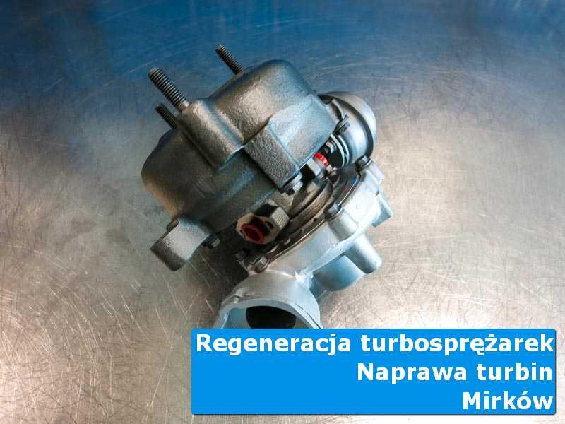 Układ turbodoładowania po serwisie w autoryzowanej pracowni z Mirkowa