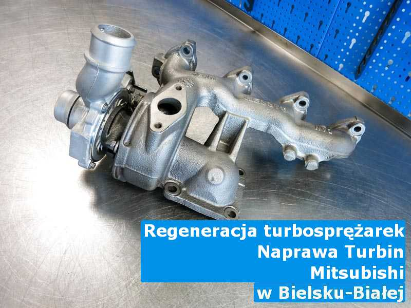 Turbosprężarka marki Mitsubishi przed wysyłką w Bielsku-Białej