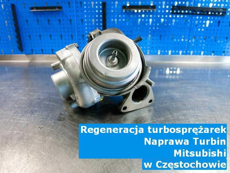 Turbo marki Mitsubishi do regeneracji w Częstochowie
