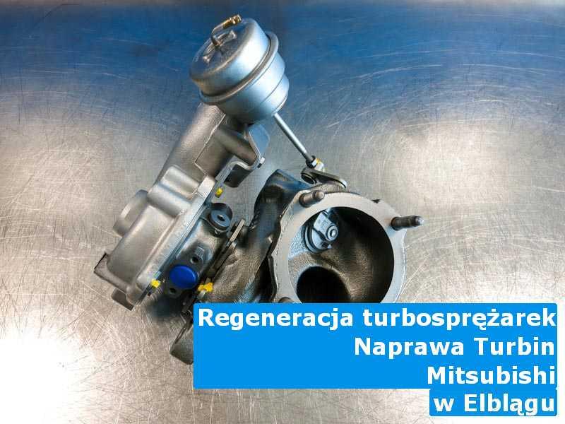 Turbo marki Mitsubishi po odzyskaniu osiągów pod Elblągiem