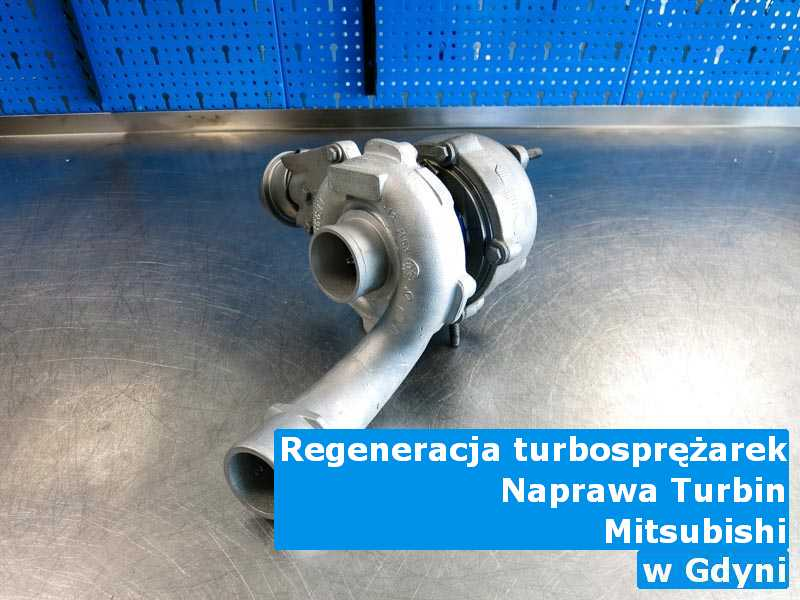 Turbosprężarki marki Mitsubishi po wyważeniu w Gdyni