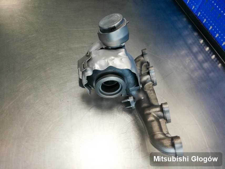 Wyczyszczona w laboratorium w Głogowie turbina do osobówki firmy Mitsubishi przygotowana w warsztacie wyremontowana przed wysyłką