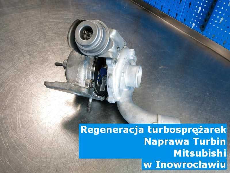 Turbosprężarki z auta Mitsubishi przed montażem pod Inowrocławiem