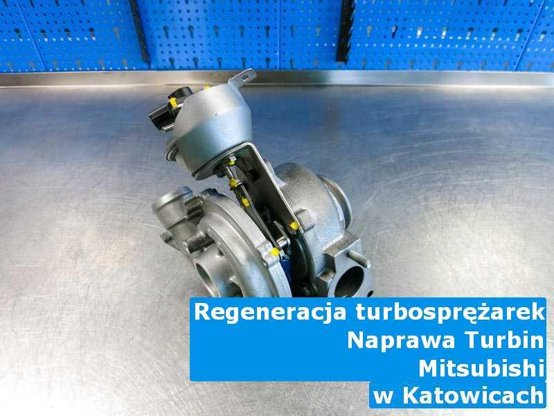 Turbosprężarki z pojazdu marki Mitsubishi czyszczone w Katowicach