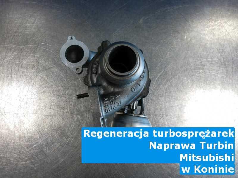 Turbosprężarka z auta Mitsubishi odnowiona pod Koninem
