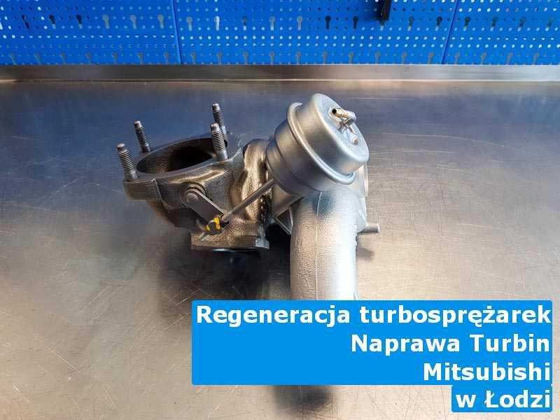 Turbina marki Mitsubishi naprawiona pod Łodzią