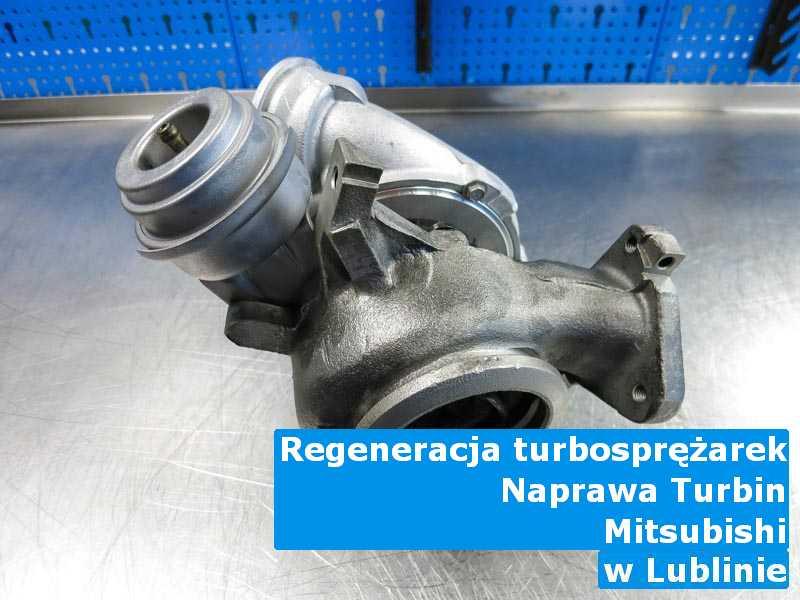 Turbiny z pojazdu marki Mitsubishi wysłane do sprawdzenia w Lublinie