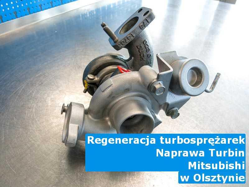 Turbosprężarki marki Mitsubishi wyważone z Olsztyna