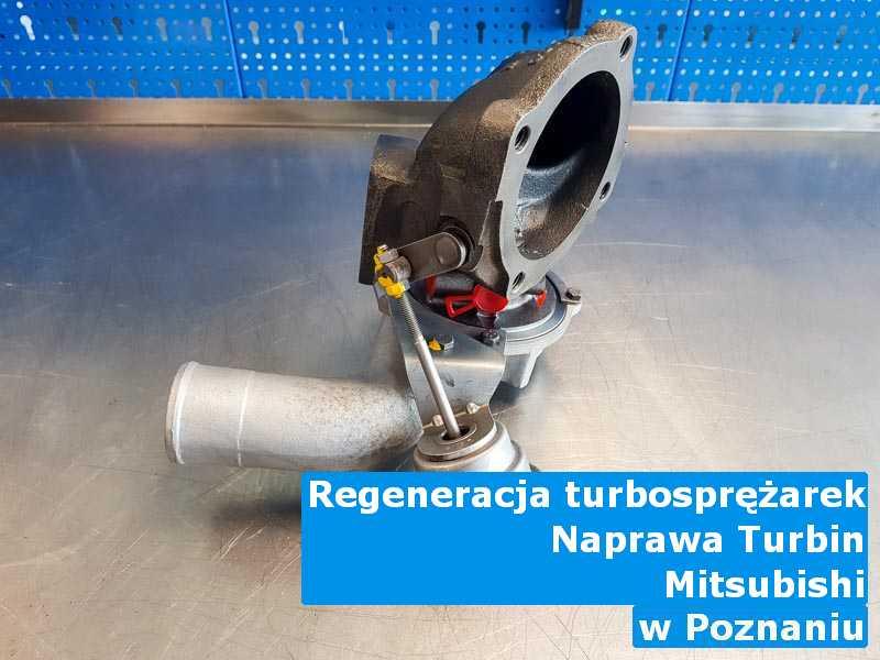 Turbo marki Mitsubishi po wyważeniu w Poznaniu