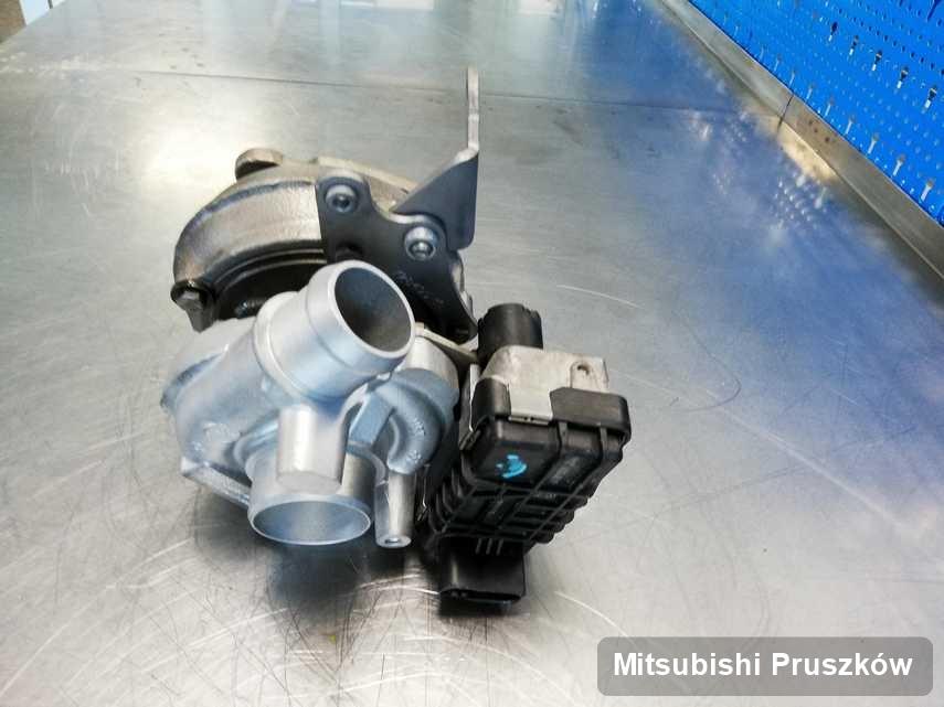 Wyremontowana w pracowni regeneracji w Pruszkowie turbina do aut  spod znaku Mitsubishi przygotowana w warsztacie wyremontowana przed wysyłką