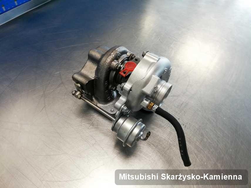 Zregenerowana w przedsiębiorstwie w Skarżysku-Kamiennej turbina do auta firmy Mitsubishi przygotowana w warsztacie wyremontowana przed nadaniem