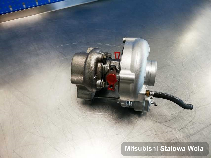 Naprawiona w pracowni w Stalowej Woli turbina do samochodu marki Mitsubishi przygotowana w warsztacie po regeneracji przed wysyłką