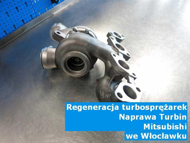 Turbosprężarki z pojazdu marki Mitsubishi zdemontowane w Włocławku