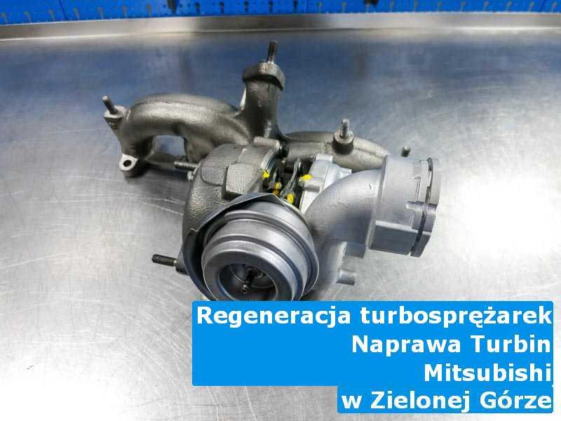 Turbosprężarka z samochodu Mitsubishi po wizycie w serwisie z Zielonej Góry