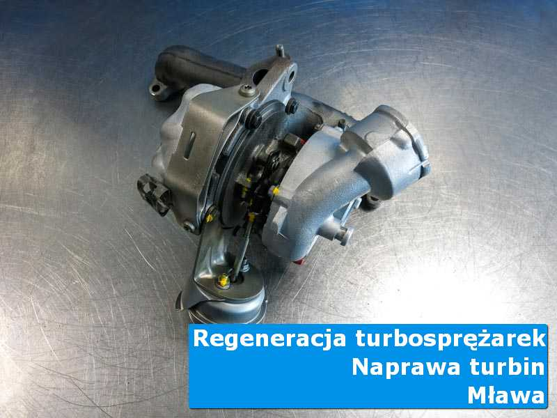 Turbosprężarka przed pakowaniem u specjalistów w Mławie