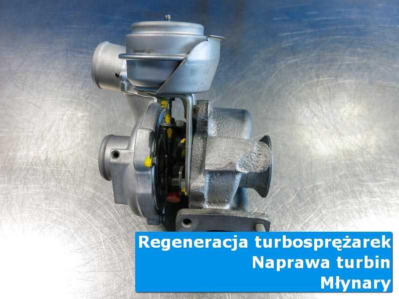 Układ turbodoładowania po przywróceniu sprawności w autoryzowanym serwisie z Młynar
