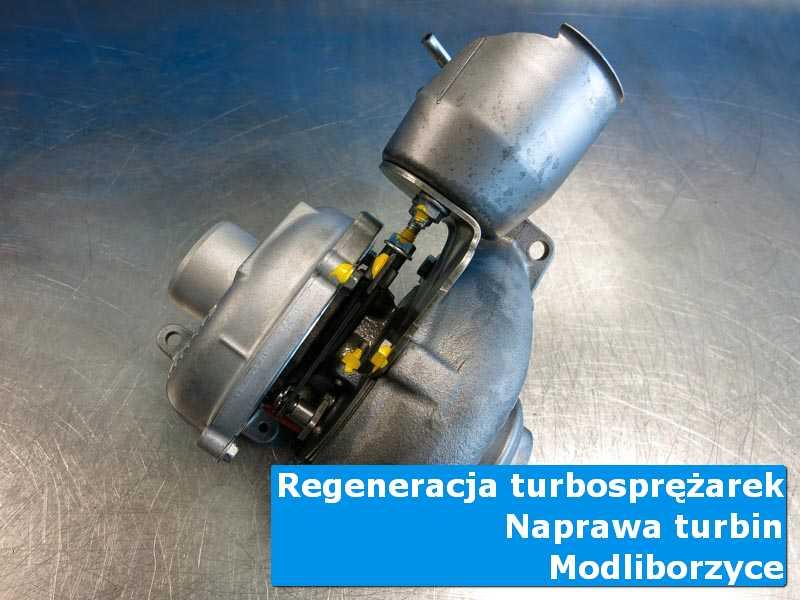 Układ turbodoładowania po przygotowaniu w specjalistycznej pracowni z Modliborzyc