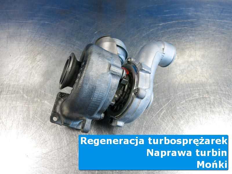 Układ turbodoładowania po przygotowaniu u specjalistów z Moniek