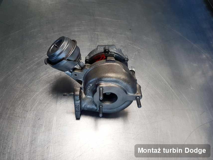 Turbina do auta osobowego spod znaku Dodge naprawiona w laboratorium gdzie zleca się usługę Montaż turbin