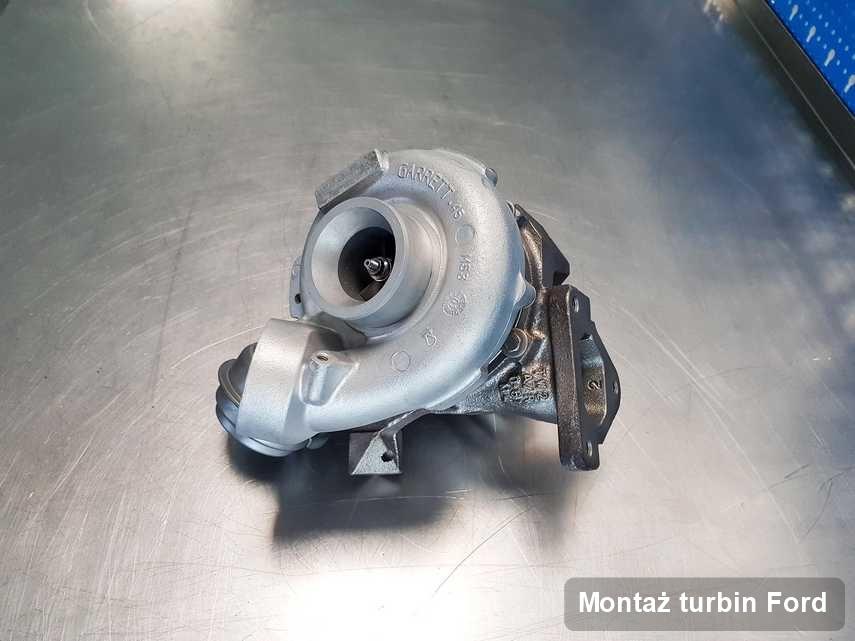 Turbosprężarka do diesla producenta Ford naprawiona w pracowni gdzie realizuje się usługę Montaż turbin